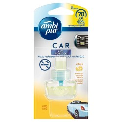 Náplň do osvěžovače vzduchu do auta - CAR3 - Anti tabák - 7 ml - Ambi Pur
