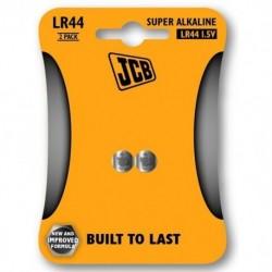 Alkalické baterie LR44 - 2 ks - JCB