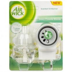 Elektrický osvěžovač vzduchu + náplň - Bílé květy frézie - Air Wick