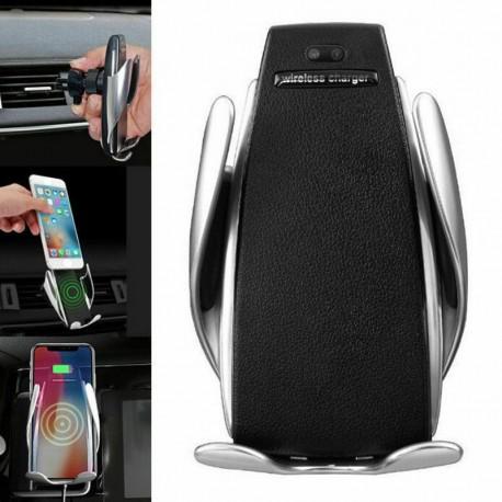 Bezdotykový držák na telefon se senzorem a bezdrátovým nabíjením
