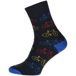 Unisex ponožky - Kolo - černé - WiTSocks