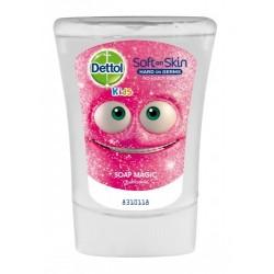 Náplň do bezdotykového dávkovače mýdla Dettol Kids - Mýdlový kouzelník - Heřmánek - 250 ml - Dettol
