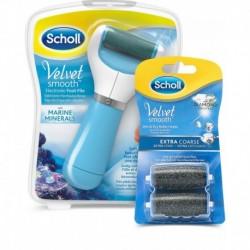 Elektrický pilník na chodidla Velvet Smooth + 2 náhradní hlavice - Scholl