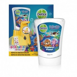 Bezdotykový dávkovač mýdla Dettol Kids - ZOO - 250 ml - Dettol