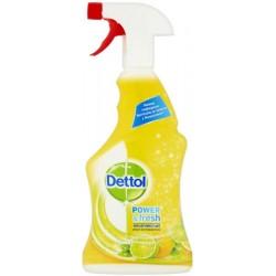 Antibakteriální čistič na povrchy ve spreji - citron a limetka - 500 ml - Dettol