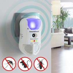 Odpuzovač parazitů s LED a čidlem 5 v 1 - InnovaGoods