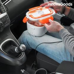 Ohřívací krabička na jídlo do auta - 40 W - 12 V - bílooranžová - InnovaGoods