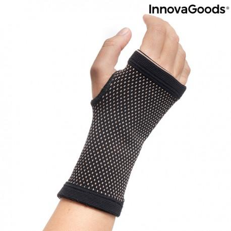 Podpora zápěstí z bambusového karbonového vlákna a mědi Wristcare - InnovaGoods