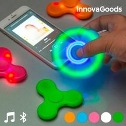 LED fidget spinner s Bluetooth reproduktorem - InnovaGoods