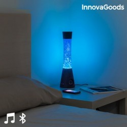 Lávová lampa s Bluetooth reproduktorem a mikrofonem - InnovaGoods