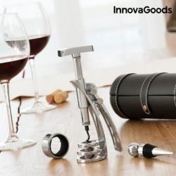 Set na víno s vývrtkou Screwpull - InnovaGoods