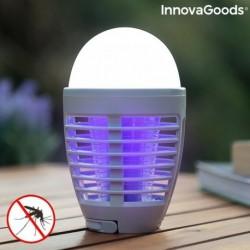 Dobíjecí repelentní lampa s LED Kl Bulb 2 v 1 - InnovaGoods
