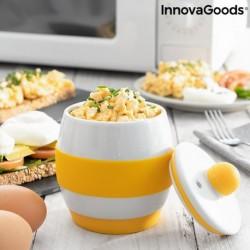 Keramický vařič vajíček do mikrovlnné trouby Eggsira - InnovaGoods