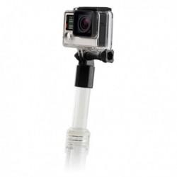 Plovoucí selfie tyč pro sportovní kameru - transparentní