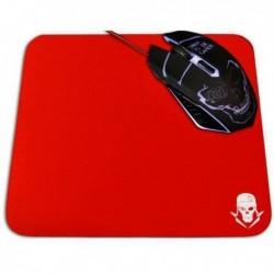 Podložka pod herní myš GMPR - červená - 25 x 21 cm - Skullkiller