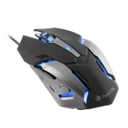 Herní myš s LED GMX-100 - 2400 DPI - černá - NGS