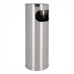 Odpadkový koš s popelníkem Confortime - kovový - 20 x 59 cm