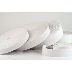 Navlékací guma - pruženka - bílá - 200 x 2 cm