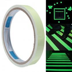 Orientační a výstražná fluorescenční páska - 2,9 m - zelená