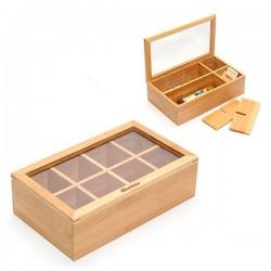 Bambusová krabice na čaj - Quttin