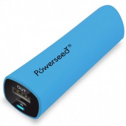 Powerbanka PS-2400E - 2400 mAh - modrá - Powerseed