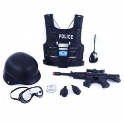 Dětská policejní vesta s příslušenstvím - Rappa