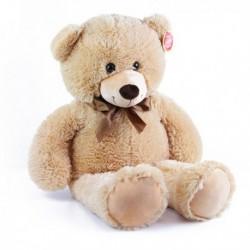 Velký plyšový medvěd Bono - 80 cm - světlý - Rappa