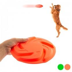 Házecí frisbee pro psy Neon