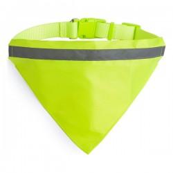 Reflexní šátek Pet Bandana - žlutý