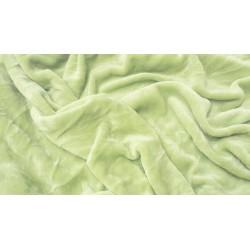 Mikroflanelové prostěradlo - světle zelené - Aaryans