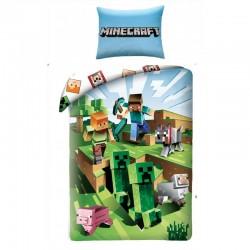 Bavlněné povlečení - Minecraft - Farma - 140 x 200 - Halantex