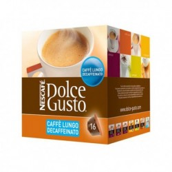 Kapsle Dolce Gusto - Caffè Lungo Decaffeinato - 16 ks - Nescafé