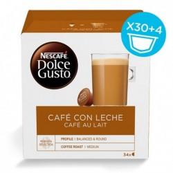 Kapsle Dolce Gusto - Cafe Au Lait - 34 ks - Nescafé