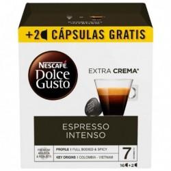 Kapsle Dolce Gusto - Espresso intenso - 18 ks - Nescafé