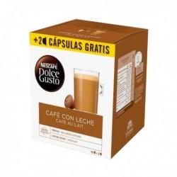 Kapsle Dolce Gusto - Cafe Au Lait - 18 ks - Nescafé