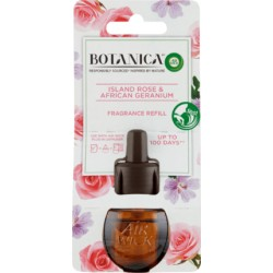 Tekutá náplň do elektrického osvěžovače vzduchu - Botanica - Islandská růže a africká pelargonie - 19 ml - Air Wick