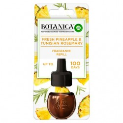 Tekutá náplň do elektrického osvěžovače vzduchu - Botanica - Svěží ananas a tuniský rozmarýn - 19 ml - Air Wick