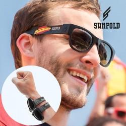 Skládací sluneční brýle - Mondial - Španělsko - černé - Sunfold