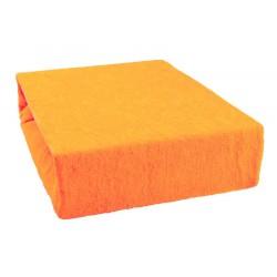 Froté prostěradlo - Pomeranč - Aaryans