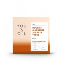 Pěstící mýdlo pro všechny typy pleti - YOU & OIL