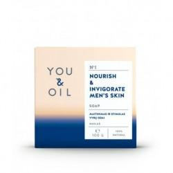 Pánské mýdlo posilňující pokožku - YOU & OIL