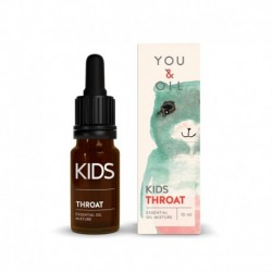 Směs éterických olejů proti bolesti v krku - pro děti - BIO - 10 ml - YOU & OIL