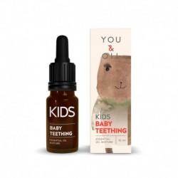 Směs éterických olejů na první zoubky - pro děti - BIO - 10 ml - YOU & OIL