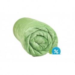 Deka z mikroflanelu - 150 x 200 cm - tmavě zelená - Aaryans