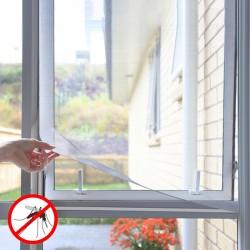 Okenní síť proti komárům - nalepovací -  černá - InnovaGoods