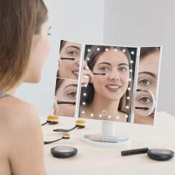 Zvětšující zrcadlo s LED 4 v 1 - InnovaGoods