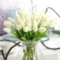 Kytice umělých tulipánů - 10 ks