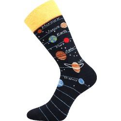 Unisex ponožky - Sluneční soustava - Voxx
