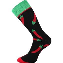 Unisex ponožky - Chilli papričky - Voxx