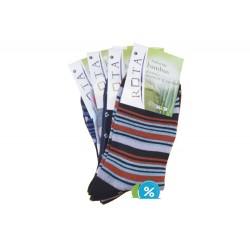 Dámské bambusové ponožky CZ401 - 5 párů - Rota